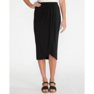 3 for $25 NWT A New Day Black Twist Midi Skirt